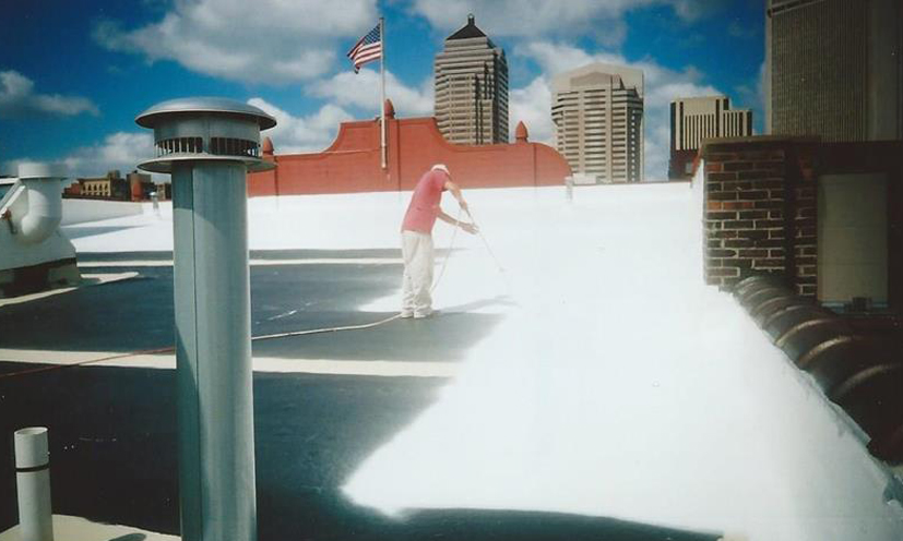 Membrane Coating System Miller Roofing Contractors